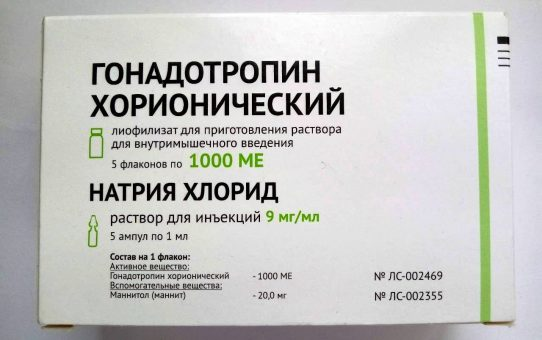 Гонадотропин хорионический 1000