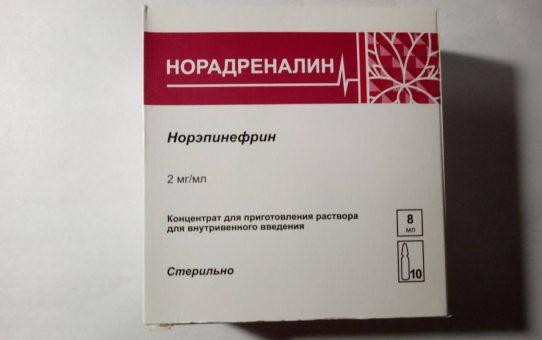 Норадреналин Агетан