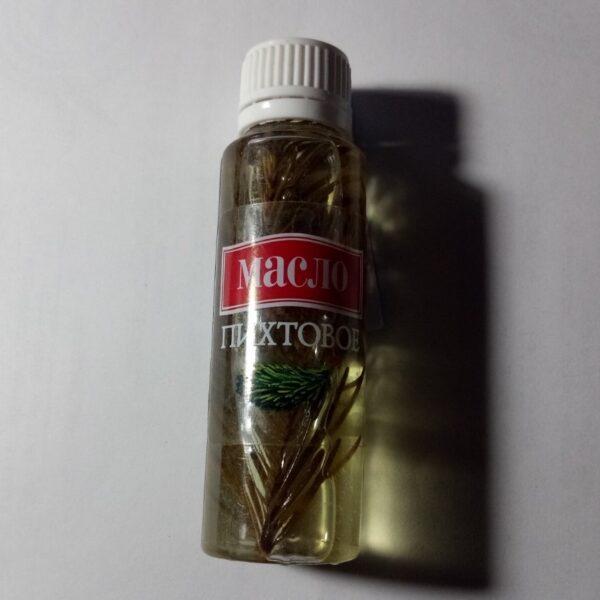 Масло пихтовое с листиками